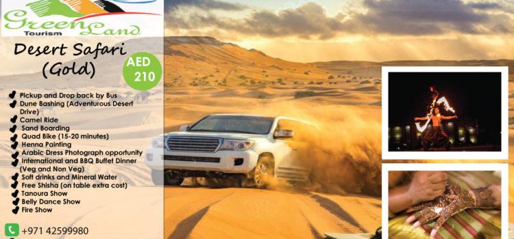 TRIP TO DESERT SAFARI UAE